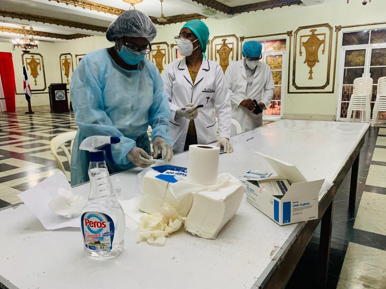 Alcaldía de SPM realiza pruebas rápidas de COVID-19 a empleados